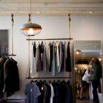 Regal sklepowy odzieżowy NUT 02